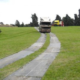 chemin de plaques de roulage Stabmat de Stabline pour camion