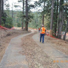 plaques de roulage Stabmat de Stabline pour les chantiers en forêt
