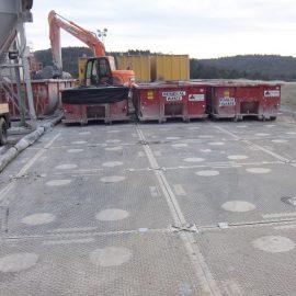 plaque de roulage Stabmax de Stabline pour stabiliser le sol des chantiers