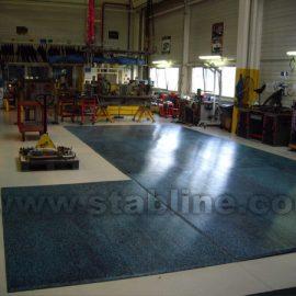 plaques de calage Stabplates par Stabline pour usine
