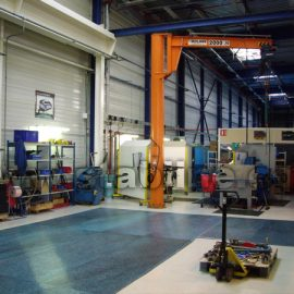 protection sol usine avec des plaques de roulage Stabplates de Stabline