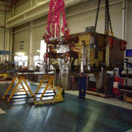 Stabplates de Stabline pour usine