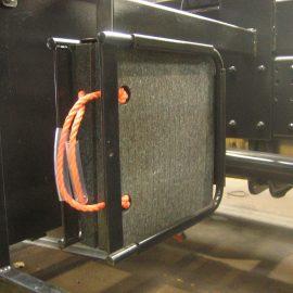 vue de profil d'une plaque de calage Stabéco de Stabline