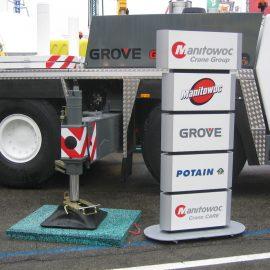 plaque de calage Stabline pour camion