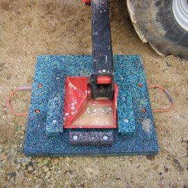 plaques de calage et minipads Stabline pour chantier