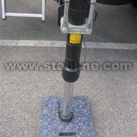 stabilisation machines de chantier avec les minipads Stabline