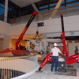plaque de calage Stabline en chantier intérieur