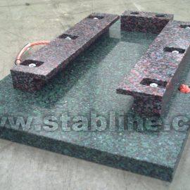 minipads pour plaques de calage Stabline