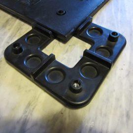 installation facile des connecteurs en plastique des plaques de roulage Stabline