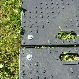 connecteurs de plaques de roulage Stabline pour sol instable